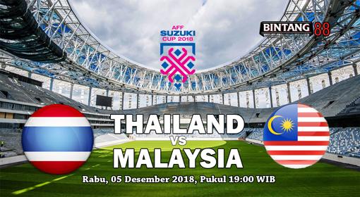 Prediksi Thailand vs Malaysia 05 Desember 2018