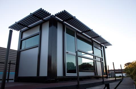Shipping Container Homes Small Shipping Container Home Auckland