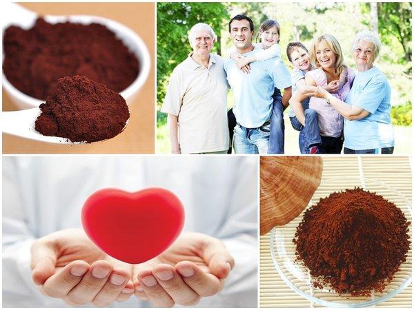 Sử dụng nấm linh chi- bí quyết cho trái tim khỏe mạnh