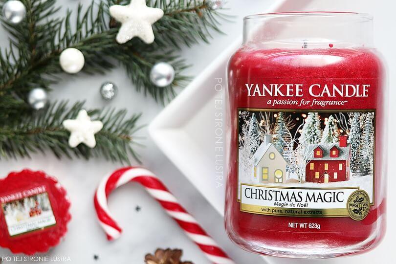 Christmas Magic Yankee Candle - magia Świąt