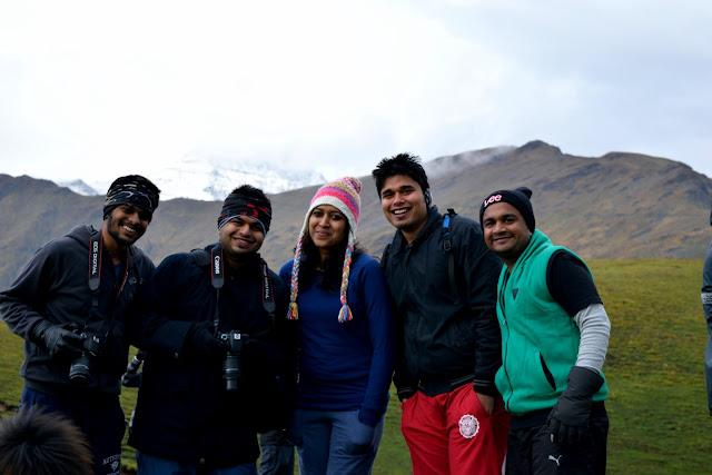 Pic : The fun loving gujju group
