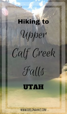 Hiking to Upper Calf Creek Falls, Escalante, Utah