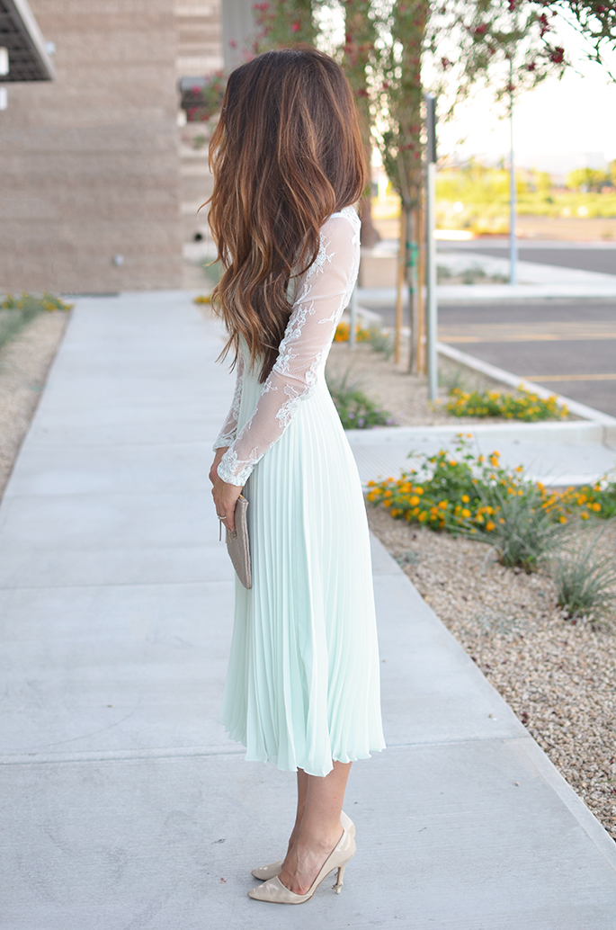 Wedding Guest Dresses Lace : Petite perfect wedding guest dress minty lace