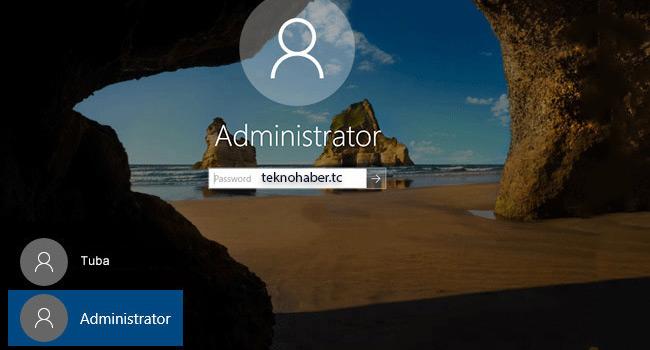 Windows 10 da Gizli Admin Hesabını Nasıl Aktif Ederiz