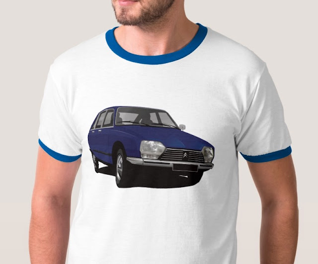 Citroën GS t-shirts and apparel