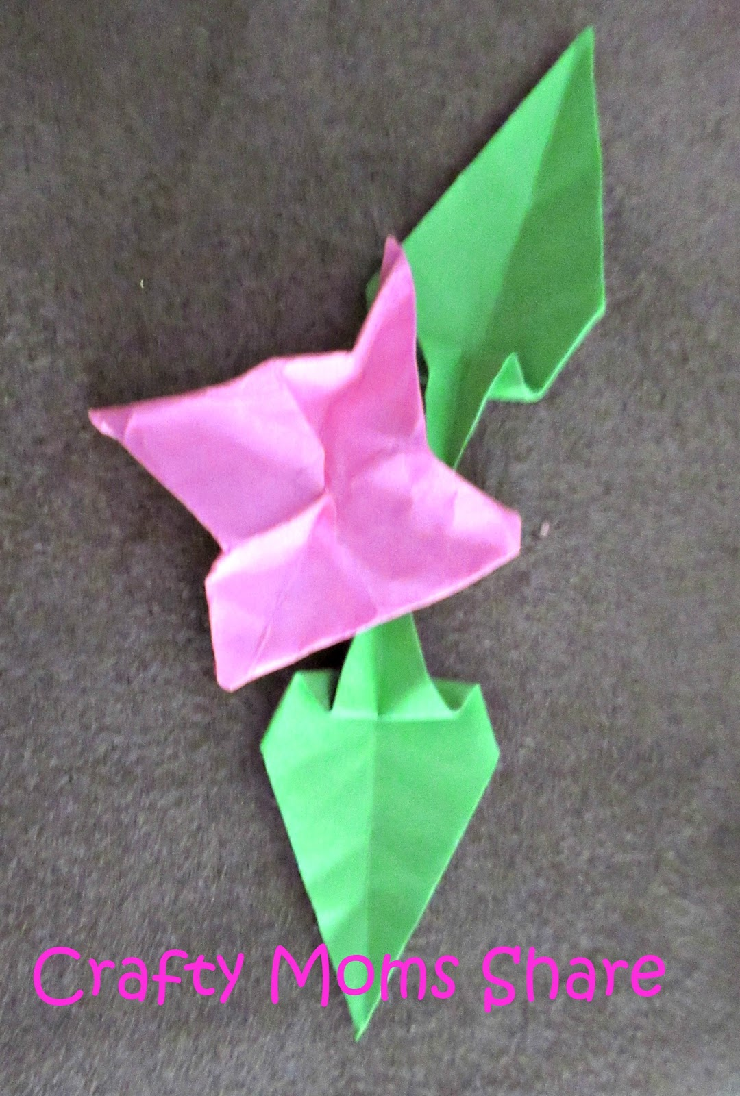 Crafty Moms Share Origami Bonsai A Crafty Weekends Review Link