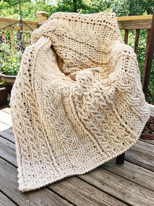 Celtic Afghan - Free Pattern