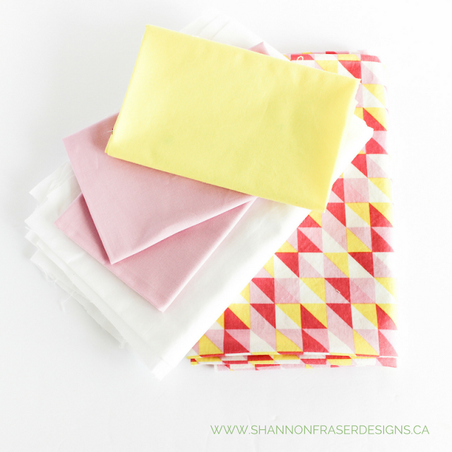 Pink Lemonade Quilt Fabric | Shannon Fraser Designs