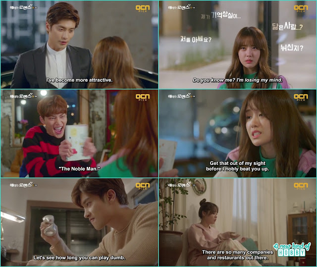 Yoo Mi play dumb and didn't recognize jin wook so he decided to take revenge on her -  My Secret Romance: Episode 3
