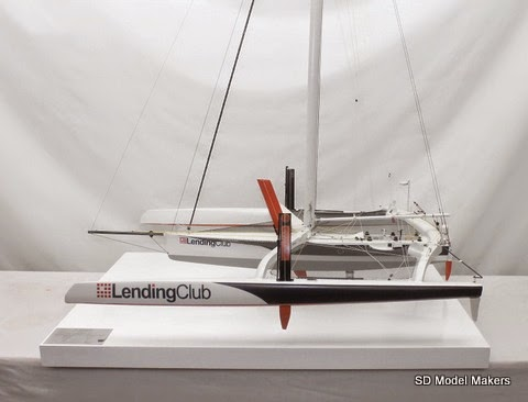 Ocean Racing Trimaran model 1/26 Scale -35 87
