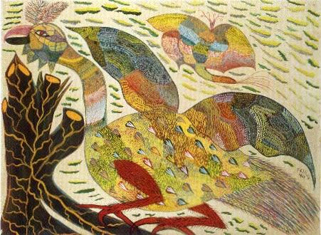 Morcego da Neve - Chico da Silva e suas pinturas primitivista ~ Pintor brasileiro