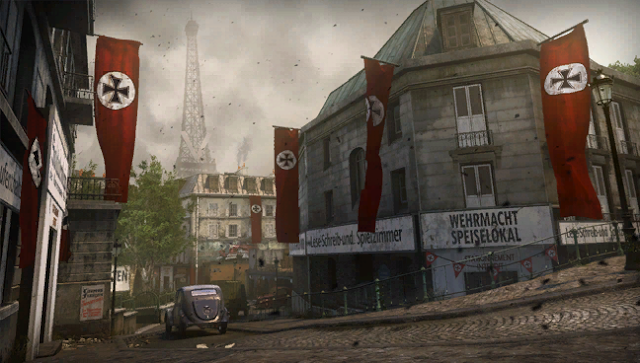تسريب أول الصور للخرائط القادمة للعبة Call of Duty WWII