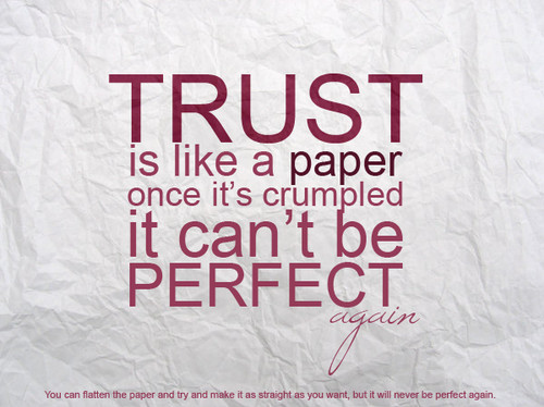 Wise Saying on Trust | WiseImage