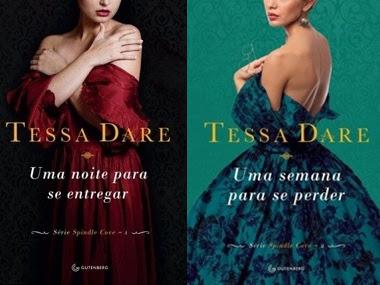 Resenha Uma Noite Para Se Entregar & Uma Semana Para Se Perder - Série Spindle Cove - Livros 01 & 02 - Tessa Dare
