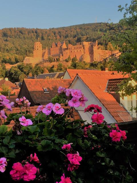 Famous Heidelberg Castle - Berühmtes Heidelberger Schloss