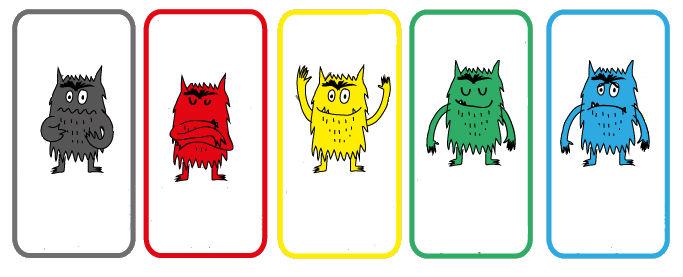 Maderuca - Juegos de Madera: El monstruo de colores y la mesa de luz.