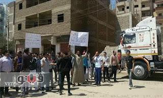 القبض على 4 متظاهرين من أهالي الطالبة المختفية بقنا
