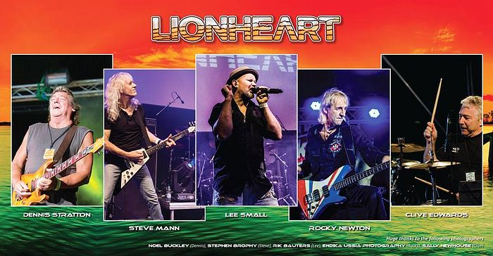 LIONHEART - Second Nature (2017) inside
