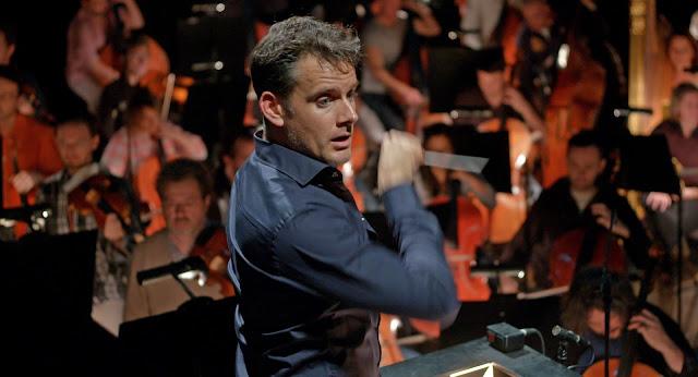 Philippe Jordan, chef de l'orchestre de l'opéra de Paris dans L'Opéra de Jean-Stéphane Bron (2017)