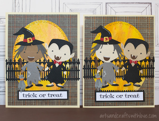 Halloween cards with Sizzix Big Shot