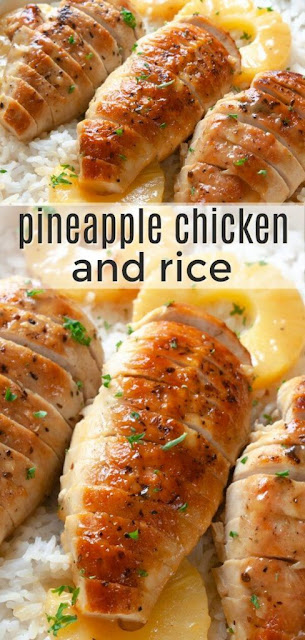 Pineapple Chicken and Rice