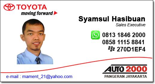 Dealer Mobil Toyota Auto 2000 - Pangeran Jayakarta Jakarta Pusat