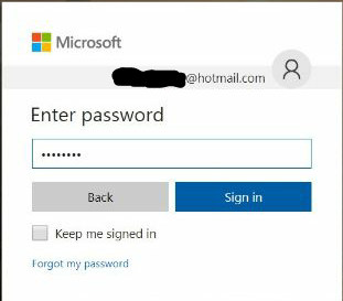 Hotmail sign in sign up