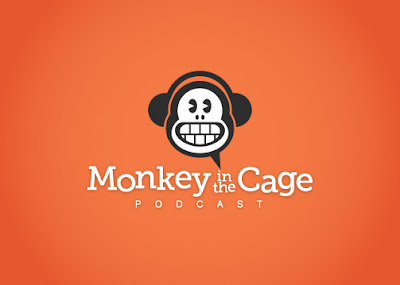monkey in the cage logo design