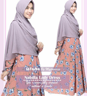 Gamis Latasha Nabilla Lady Dress