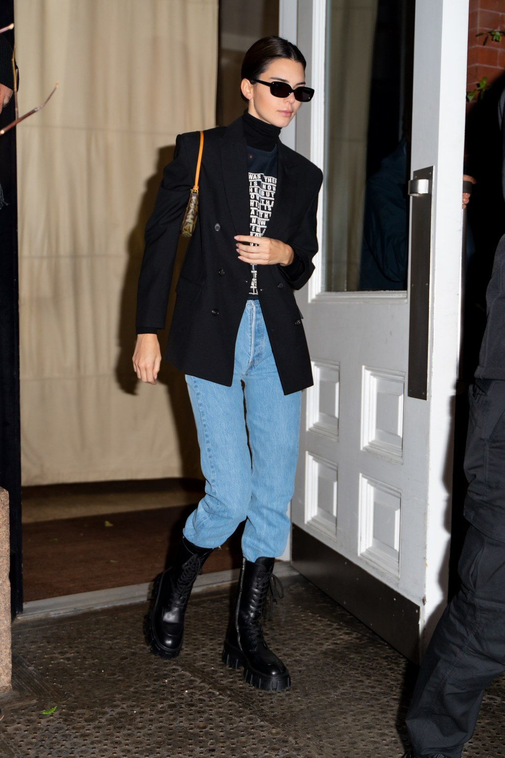 Kendall Jenner Made This Edgy Boot Look Sophisticated