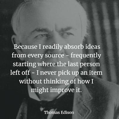 Thomas Edison quote about success