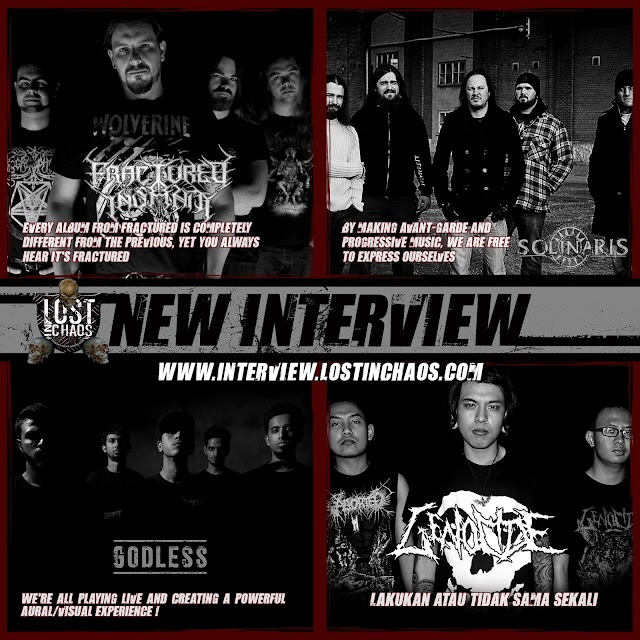 CHECK OUT NEW LOSTINCHAOS MEDIAZINE INTERVIEW 30.04.2016