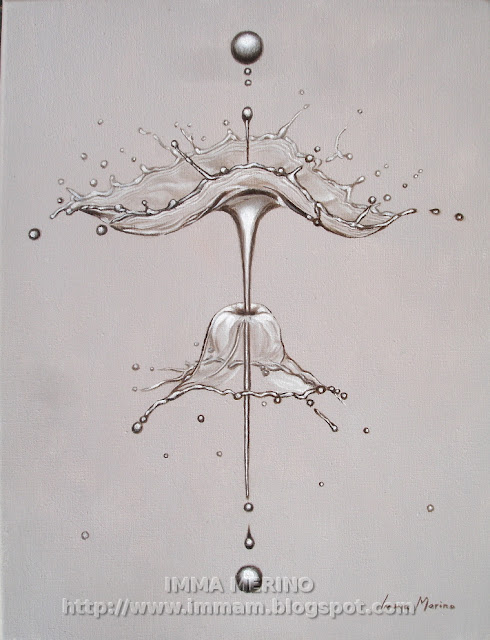 water drop, arte, glicee