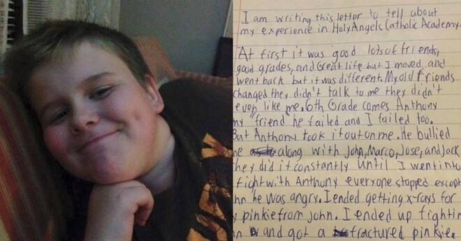 13-Year-Old Wrote This Letter Before He Hanged Himself. His Parents Only Want That His Story Be Told