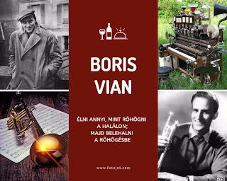 Ismerkedjunk az irokkal #1: Boris Vian