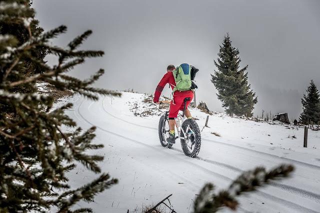 Fatbike Tour Blaser Steinach am Brenner Auffahrt