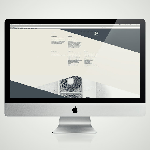 3R website by Gen Design Studio renewable energy systems