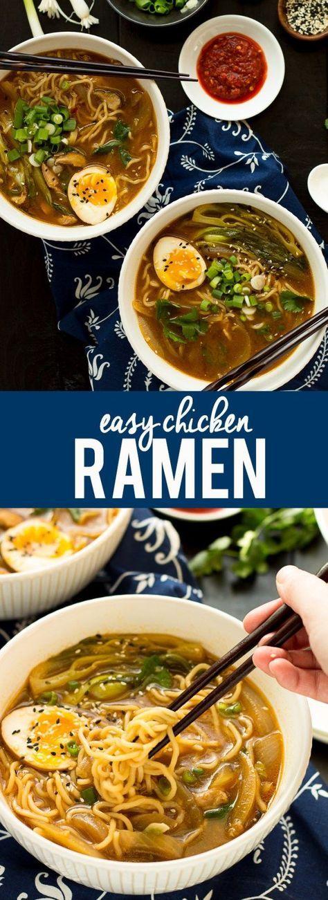 Easy Chicken Ramen