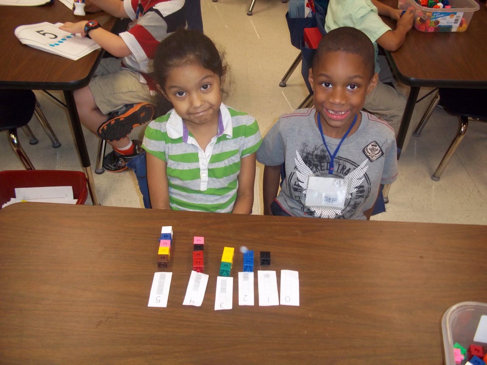 Kinder Garden: Mrs. Wood's Kindergarten Class: Math Stations
