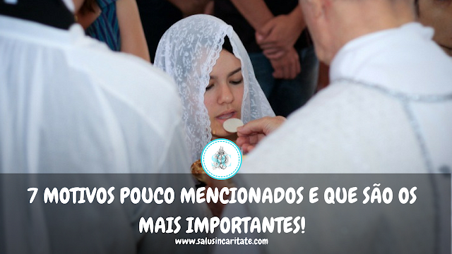 7 motivos pouco mencionados e que são os mais importantes no uso do véu por mulheres católicas