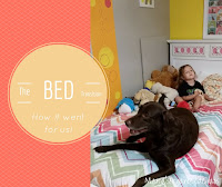 transitioning from crib to big girl bed- we chose a twin bed instead of a toddler bed