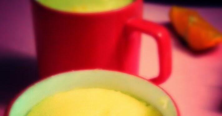Microwave Cake Recipes In Bangla: Bongtaste : 1 Minute Microwave Orange Mug Cake With