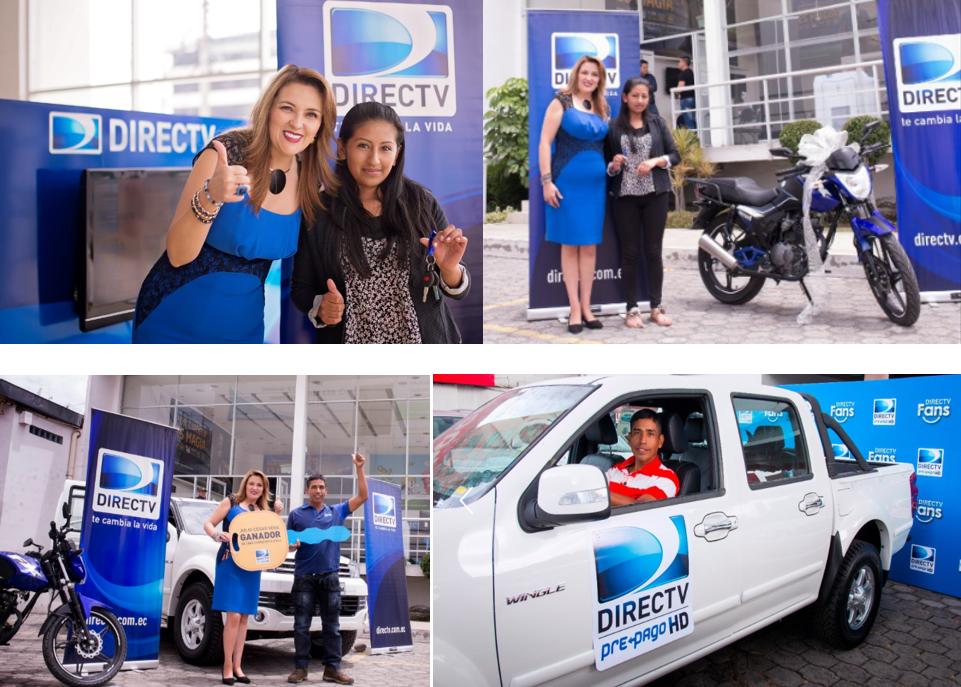 DIRECTV premia a sus suscriptores con la entrega de motocicleta y camioneta en Ambato