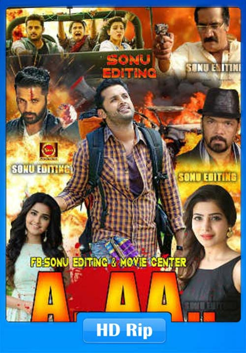 A Aa 2018 WEBHD 720p Hindi Dubbed x264 | 480p 300MB | 100MB HEVC
