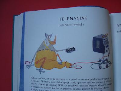 mała encyklopedia domowych potworów, książka dla dzieci