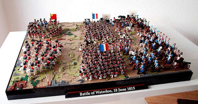 Tiles Or Studs Custom Napoleonic Army And The Battle Of Waterloo By Ondrej Kafka
