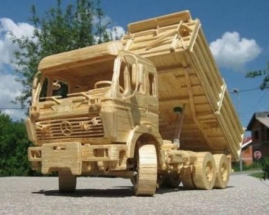 miniatur truk model terbaru