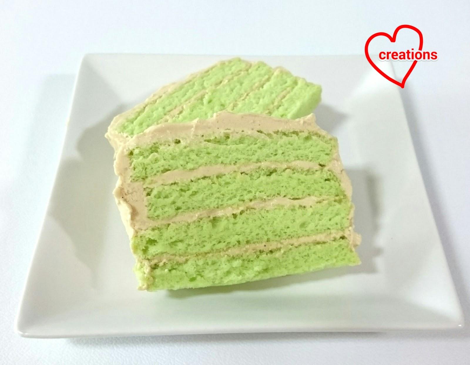 White Chiffon Cake