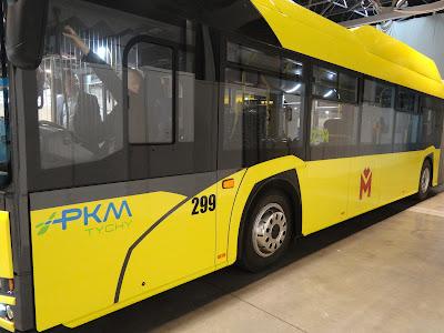Solaris Urbino 18 CNG, PKM Tychy, SilesiaKOMUNIKACJA 2019