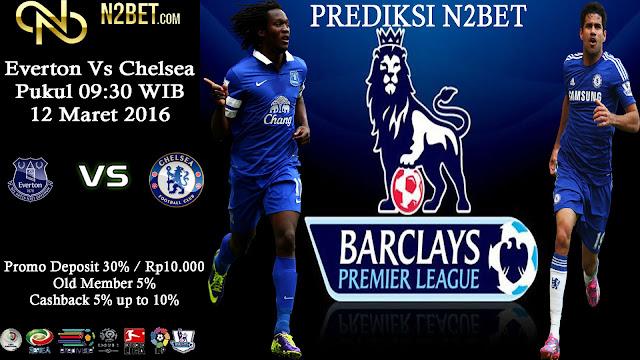 PREDIKSI BOLA UERO - Everton vs Chelsea